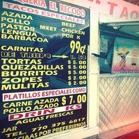 Photo taken at Taqueria El Recodo by Brad H. on 12/23/2012