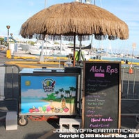 Photo taken at Aloha Pops Ice Cream Tricycle by Michael C. on 6/19/2015