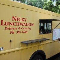 Photo taken at Nicky Lunchwagon by Michael C. on 3/26/2013