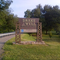 Photo taken at Drake Well Museum and Park by Amanda D. on 8/17/2013