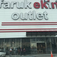 Photo taken at faruk ekin outlet by Erkan D. on 4/15/2017