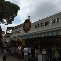 Photo taken at La Creperie by Dries P. on 7/2/2016