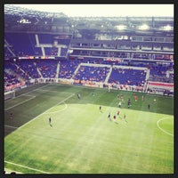 Photo taken at Red Bull Arena by Dorian A. on 3/30/2013