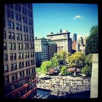 4/27/2013 tarihinde Dorian A.ziyaretçi tarafından Union Square Park'de çekilen fotoğraf
