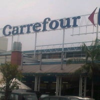 Photo taken at Carrefour by Dj S. on 10/25/2012