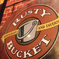 Photo taken at Rusty Bucket Restaurant and Tavern by Chris L. on 1/5/2013