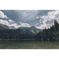 Photo taken at Lago di Tovel by Simone M. on 6/27/2016