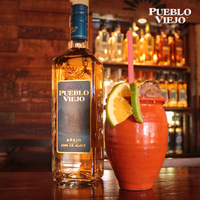Photo taken at La Palmera by Pueblo Viejo Tequila on 5/12/2017
