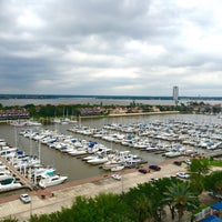 Photo taken at South Shore Harbour Marina by Niko P. on 4/28/2015
