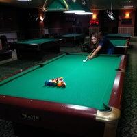 Photo taken at Billiarium Pool Club by Esma K. on 11/9/2013