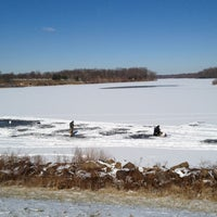 Photo taken at Core Creek State Park by Stephen B. on 1/26/2013