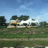 Photo taken at Pekan Tuaran by Najwa 7. on 5/28/2016