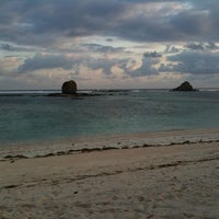 Photo taken at Seger Beach by Fitra D. on 10/12/2013