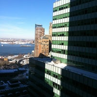 Photo taken at DoubleTree by Hilton Hotel New York City - Financial District by Sergey I. on 2/10/2013