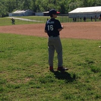 Photo taken at Canton Post 45 ( American Legion Baseball Field) by Olivia M. on 4/26/2014