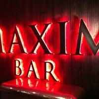 Снимок сделан в Maxim Bar пользователем Andrej T. 9/15/2012