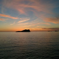 Photo taken at Cala Comte by Jorge P. on 10/24/2014