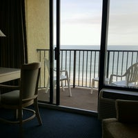 Photo taken at Ocean Park Resort by Kathleen R. on 2/15/2017