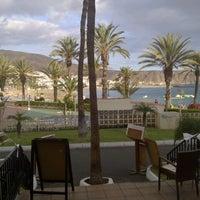 Photo taken at Las Vistas Beach by Marcin J. on 10/12/2012