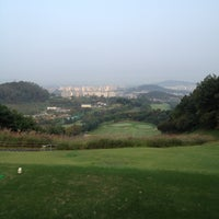 Photo taken at South Suwon Country Club by Sanghoon L. on 9/27/2012