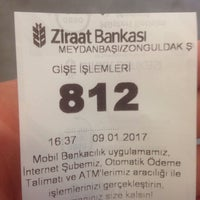 Photo taken at Ziraat Bankası by Şenol K. on 1/9/2017