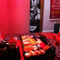 Photo taken at Mr. Miyagi Sushi Bar by Marcelo C. on 10/12/2012
