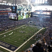 Photo taken at AT&T Stadium by Gerardo G. on 12/23/2012