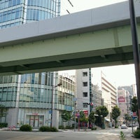 Photo taken at 御幸通交差点 by Shunsuke H. on 8/4/2016