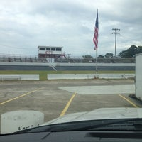 Photo taken at East Carolina Motor Speedway by Bradley C. on 9/21/