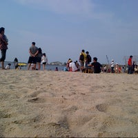Photo taken at Little Kuta Beach-Ancol by Ryzco R. on 11/5/2013
