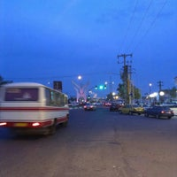 Photo taken at Nirouy-e Daryayi Square by Canaan N. on 9/30/2015