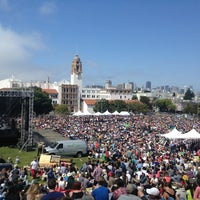 Photo taken at Symphony In the Park at Dolores Park by Julia R. on 7/21/2013