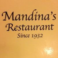 Photo taken at Mandina's Restaurant by Bren B. on 12/26/2012