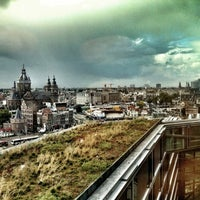 Photo taken at SkyLounge Amsterdam by Paul J. on 9/19/2012