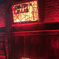 Photo taken at Comedy Cellar at The Village Underground by Lisa P. on 7/30/2017