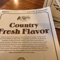 Photo taken at Cracker Barrel Old Country Store by Noelle C. on 10/30/2017