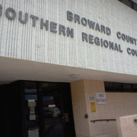 Photo taken at Broward County Southern Regional Courthouse by Lady L. on 12/13/2012