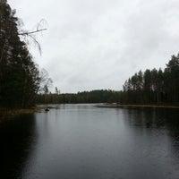 Photo taken at Kylästinlahti by Ленчик ♡. on 5/13/2014