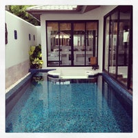 Photo taken at Anantara Bophut  Resort And Spa by Thomas P. on 7/22/2013
