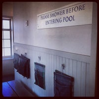 Photo taken at Richmond Municipal Natatorium (The Plunge) by Ed V. on 12/21/2013