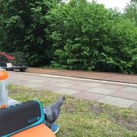 Photo taken at Draisine-Bahnhof Mellensee - Erlebnisbahn by Heiko ⁂. on 5/26/2016
