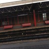 Photo taken at Deansgate Railway Station (DGT) by Maliha on 11/30/2012