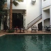 Photo taken at Riad Chergui by Ibon R. on 8/28/2014