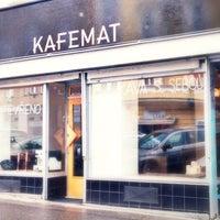 Photo taken at Kafemat by Marketa on 1/22/2014