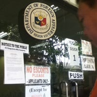 Photo taken at Dept. of Foreign Affairs (DFA) by Dolycious on 1/4/2013