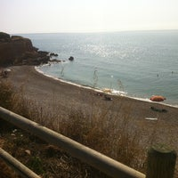 Photo taken at Cala del Pastor by Jorge C. on 7/16/2013