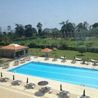 Photo taken at Hilton Malabo by Yola A. on 3/14/2013
