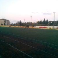 Photo taken at Karamursel Sehir Stadı by Burak U. on 11/1/2016