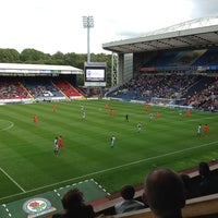 Photo taken at Ewood Park by Tony S. on 8/31/2013
