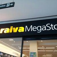 Photo taken at Saraiva Megastore by Luis Fernando F. on 2/16/2013
